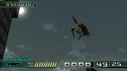 Crisis Zone gyro helicopters (PS2 version)