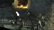 Civilian Militia storming Almada Penitentiary