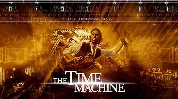 ผลการค้นหารูปภาพสำหรับ time machine film