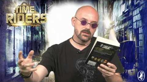 Alex Scarrow reads an extract from TimeRiders City of Shadows (book 6)