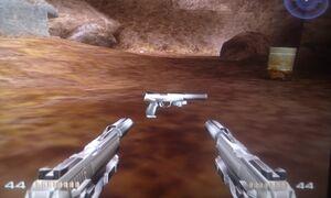 Silenced Pistol x2