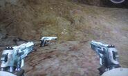 Pistol 9mm x2