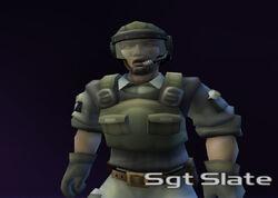 Sgt Slate