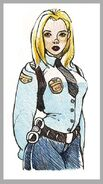 Lieutenant Christine Malone Artwork