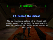 TS1 Challenge 1-A Behead the Undead BRIEFING
