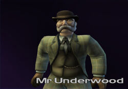 Mr Underwood