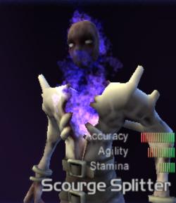 Scrooge splitter