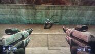 Sci-fi Handgun x2