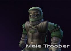 Male Trooper