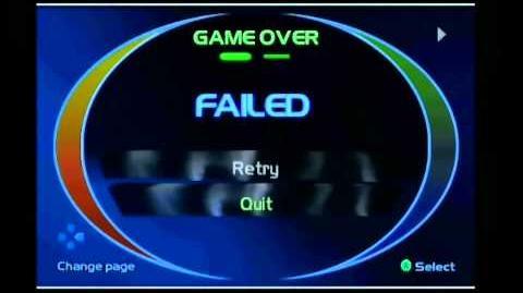 Timesplitters 2 Showcase Game Over
