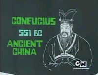 Confucius on Monitor
