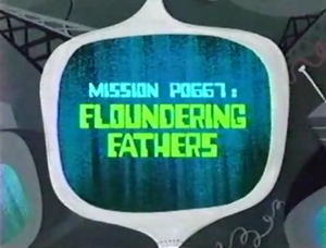 Floundering Fathers Titlecard