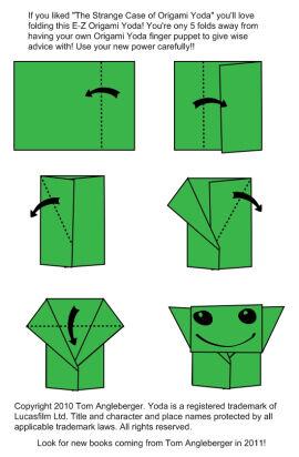 how to fold | Origami Yoda 2 | 412x270
