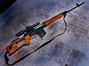 Snayperskaya Vintovka Dragunova a.k.a Dragunov Sniper Rifle