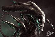 2098 The Alien Queen by 14 bis