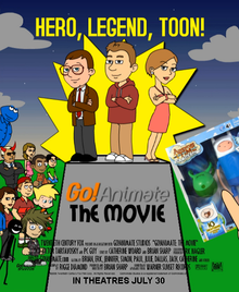 Go!Animate The Movie Poster (Restored)