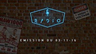 SQUARED CIRCLE RADIO - Emission du 03-11-2016