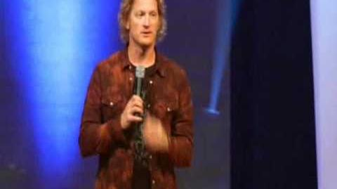 Tim Hawkins on Cracker Barrel