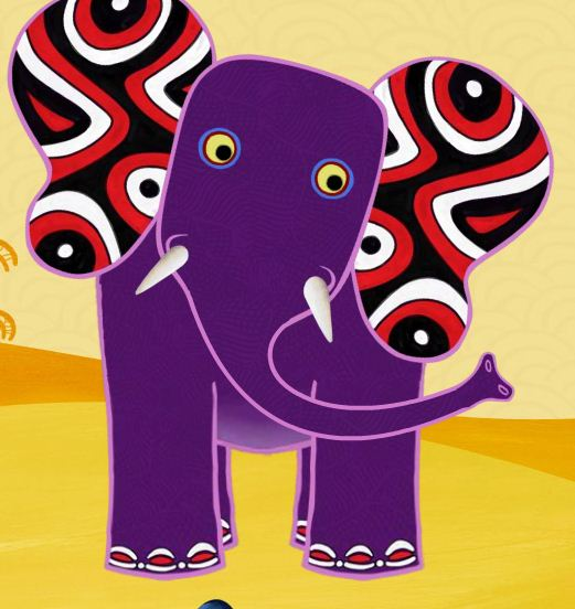 Elephant tinga tinga tales wiki fandom powered by wikia for Tinga tinga coloring pages