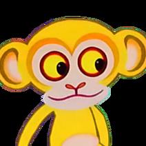 Yellow Monkey (Tinga Tinga Tales) - head