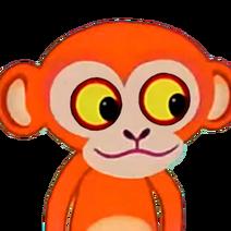 Orange Monkey (Tinga Tinga Tales) - head