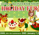 Winter Holiday Furnishing Interior