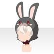 Rabbit head white
