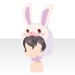 Rabbit head black