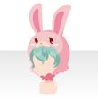 Rabbit head green
