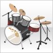 Acoustic Rock Drum Set