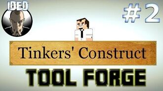 Minecraft Tutorials - Tinkers Construct - Tool Forge and much more