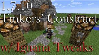 1.7.10 Tinkers' Construct w Iguana Tweaks