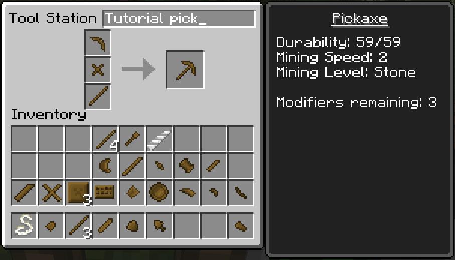 Pickaxe | Tinkers' Construct Wiki | Fandom