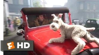 The Adventures of Tintin (2011) - Snowy to the Rescue Scene (1 10) Movieclips