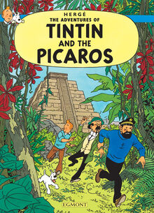 Tintin and the Picaros Egmont