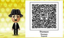 Thomson Mii Tomodachi Life QR