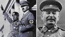 히틀러와 무솔리니