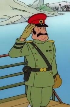 Colonel Jimenez Tintin