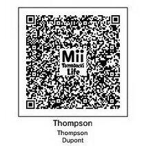 Tomodachi QR Thompson