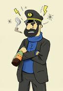 Captain haddock by ruskibanjo-d37fn3w