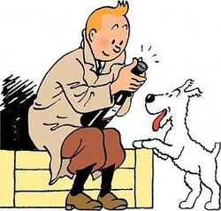 Tintin Snowy (Cigars of the Pharoah)