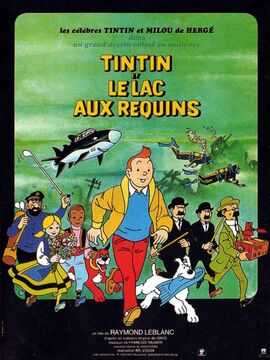 Tintin and the Lake of Sharks Egmont