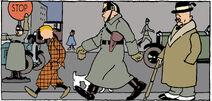 Tintin on Streets