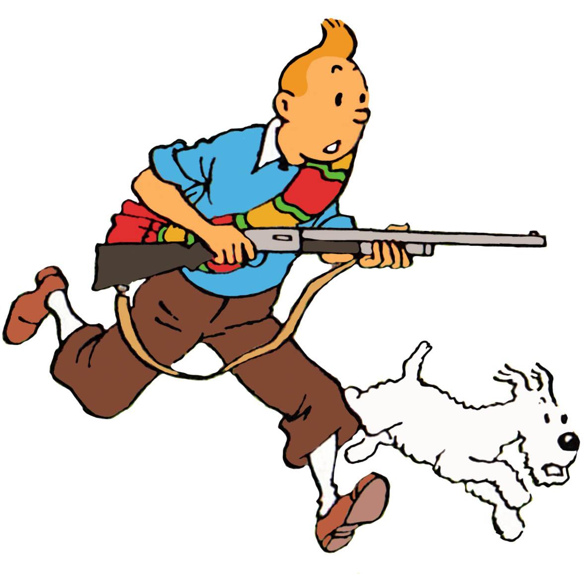 Image tintin with a rifle g wiki fandom