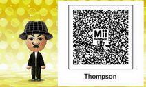 Mii Tomodachi life QR Thompson