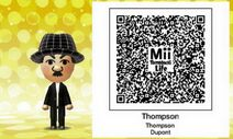 Thompson Mii Tomodachi Life QR