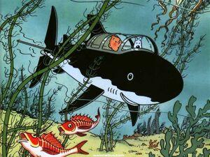 Shark-Proof Submarine
