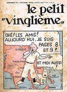 Le Petit Vingtième number 32