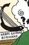Harpe guitare