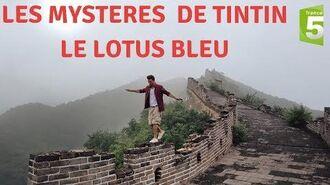 A LA RECHERCHE DU LOTUS BLEU Les Mystères de Tintin -France 5